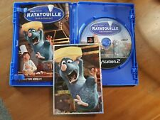 Ratatouille PS2 Game + Sticker  Sony Play Station 2