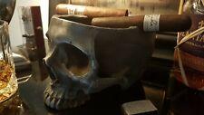 Skull Cigar Ashtray Metal Iron Skull Ashtray Cigar Iron