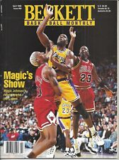 Magic Johnson Michael Jordan Beckett Basketball Price Guide Aug, 96