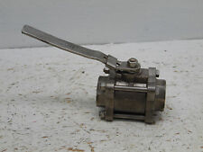 Stainess steel Ball Valve 800 WOG, cf-8m  2 inch in and out smooth no threads