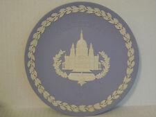 Vintage 1972 Wedgwood Christmas Plate St Paul'S Cathedral Blue Jasperware & Box