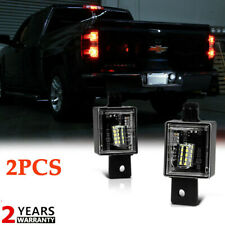 2x LED License Plate Lights BRIGHT SMD For 2014-2018 Chevy Silverado GMC Sierra