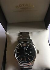 Rotary Mens Stainless Steel Braceket Watch NEW - GB05092