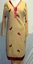 beautiful embroidery  salwar kameez Size XL44  N