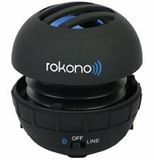 Rokono BASS+ G10 Mini Bluetooth Speaker for iPhone, iPad, iPod, MP3 Player, Lapt