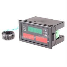 Digital AC 110V 220V 100A Voltmeter Ammeter Watt Power Meter VOLT AMP 80- 300V
