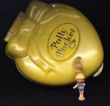 Polly Pocket Mini 💛  1995 - Stylin' Salon - Happenin' Hair - Bluebird Toys