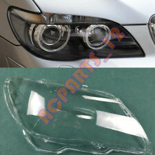 For BMW 7series E66 2005-2008 Right Side Headlight Cover Replacement +With Glue