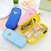Cute Pencil Case Pen Box School Stationery Cosmetic Bags Large Capacity Portable