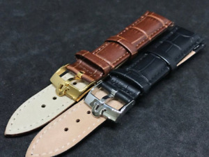 omega  leather watch strap 3x size with omega buckles.