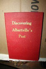 1983 Discovering Albertville's Past History Book Alabama Rare Jane Newman Ala AL