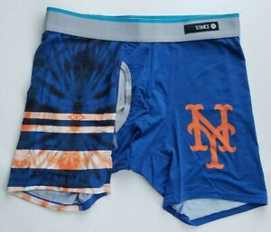 Stance New York Mets MLB Tie Dye Blue Boxers Size Large 36-38