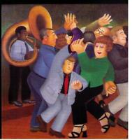 JIVING for JAZZ by Beryl Cook. ---A BRAND NEW  Signed LIMITED EDITION PRINT.