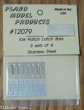 Plano HO #12079 Ice Hatch Latch Bars (6 sets 4) Stainless Steel