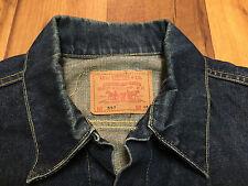 "Original Vintage LEVI'S 557 Big E ""Third"" Denim Jacket (Size 46)"