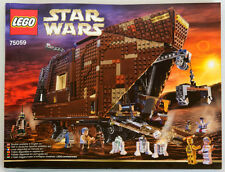 NEW LEGO INSTRUCTIONS for set 75059 SANDCRAWLER UCS no parts, stickers, minifigs