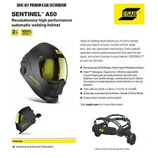 ESAB SENTINEL A50 WELDING HELMET MASK C/W 4 SPARE ANTI SCRATCH LENSES