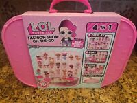 LOL Surprise! Fashion Show On-The-Go Storage/Playset with Doll Included! NIB