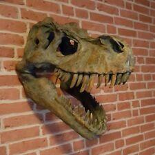 Wandrelief Dinosaurier Schädel T-Rex Tyrannosaurus Wanddekoration Figur NN110