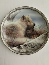 Bob Henley Collector Plate (A Mother'S Warmth) Sheltering Love