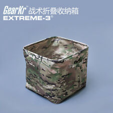 Tactical Folding storage box waterpfoof Pouch Pack Tool Bag Multicam
