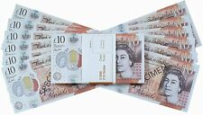 More details for £10 gbp fake money 100 notes - new edition - movies play fake cash casino photo