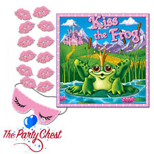 KISS THE FROG PRINCESS PARTY GAME 12 Players Classic Pin The Party Game 66670