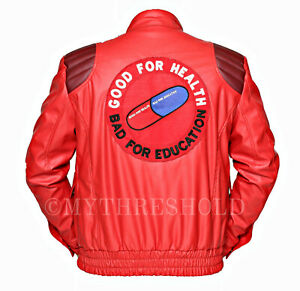 AKIRA KANEDA Leather Jacket with Capsule amp text Manga by Katsuhiro-ALL SIZES