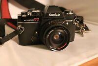 Konica Autoreflex TC - 1:28 F=28mm UNTESTED Read condition