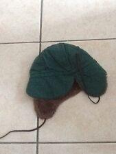 casquette hiver verte 49