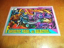 Fantastic Four vs. Galactus 107 1991 Marvel Universe Series 2 Impel Base Card