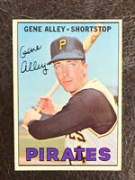 1967 Topps Gene Alley Card #283 NM-MT Pittsburgh Pirates