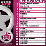 KARAOKE LEGENDS SERIES 3 CDG DISC BODDY HOLLY, PAUL ANKA,ITALIAN SONGS W/ PRINT
