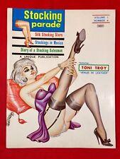 Vtg Stocking Parade Mag V.1 #4 1966 Gene Bilbrew Heels Nylons Girlie Pinups
