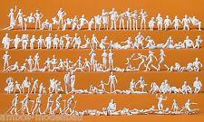 Preiser 16357 H0, Freizeit am See, 120 unbemalte Figuren, Bausatz, Neu