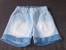 Dirkje Boys Cotton Rich Adj.Waist Soft Touch Shorts 2yrs 92cm Jeans Blue BNWT