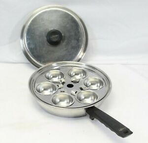 """Lifetime T304 Egg Poacher and Frying Pan Stainless Steel 10.5"""""""