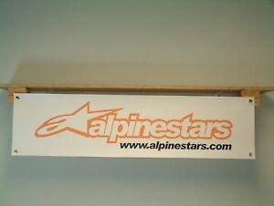 Alpinestars Banner motorcycle clothing  advertising pvc sign