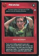 Star Wars CCG Endor Card Pitiful Little Band