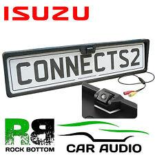 ISUZU Rear View Reversing Parking Colour Camera & Car Number Plate Frame