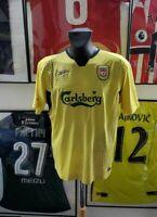 Maillot jersey trikot shirt maglia camiseta liverpool gerrard 2004 2005 2006 L