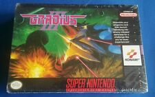SNES Gradius 3 Brand New Factory Sealed-100% Authentic Nintendo-Must See Konami!