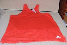 ADIDAS  WOMEN`S SIZE  LARGE  CORAL TANK TOP LACE ON TOP AND BOTTOM  NWT