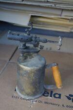 Antique Blow torch CLAYTON & LAMBERT Blow Torch  VINTAGE BRASS TORCH