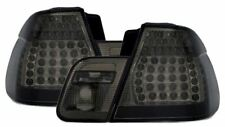 For BMW 3 Series E46 Saloon 1998-2001 Smoked Black LED Rear Tail Lights Pair