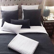 Angads White Cotton Blanket Large Textured diamond Throw Rug