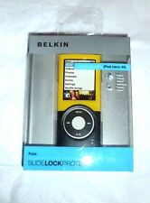 Belkin Fuse slide lock Hard plastic case for ipod nano 4th gen UK