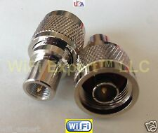 Adapter N male TYPE plug to FME male Jack RF Connector Converter shp from US