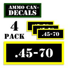 .45-70 Ammo Label Decals Box Stickers decals - 2 Pack BLYW