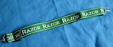 "Vintage Razor Scooter Clip On Shoulder Carrying Strap Green 39""x1.5"""